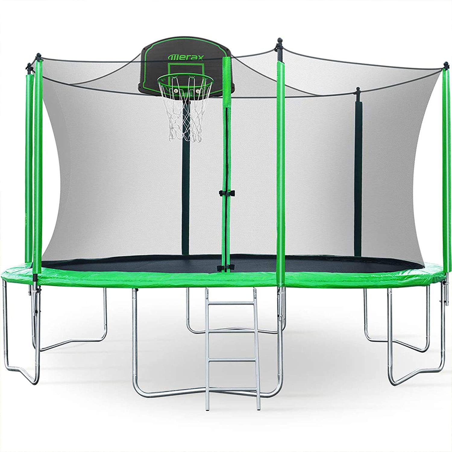 Merax 12FT Trampoline with Safety Enclosure Net