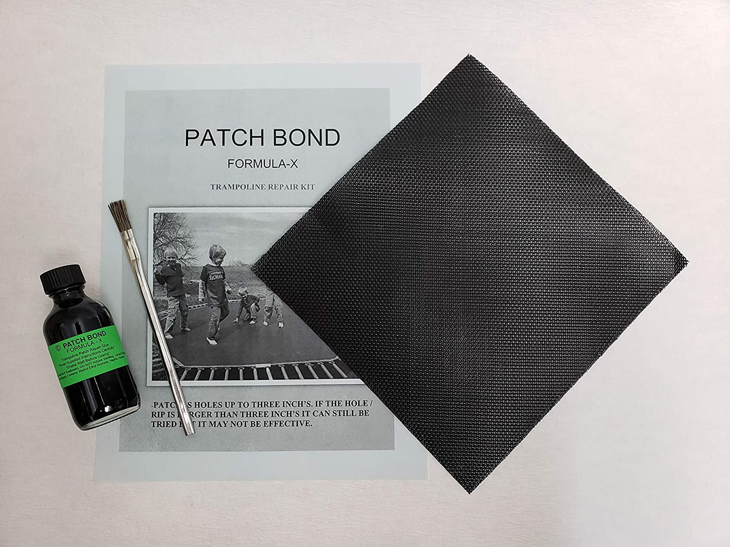 Patch Bond Trampoline Repair Kit by Bear Claw