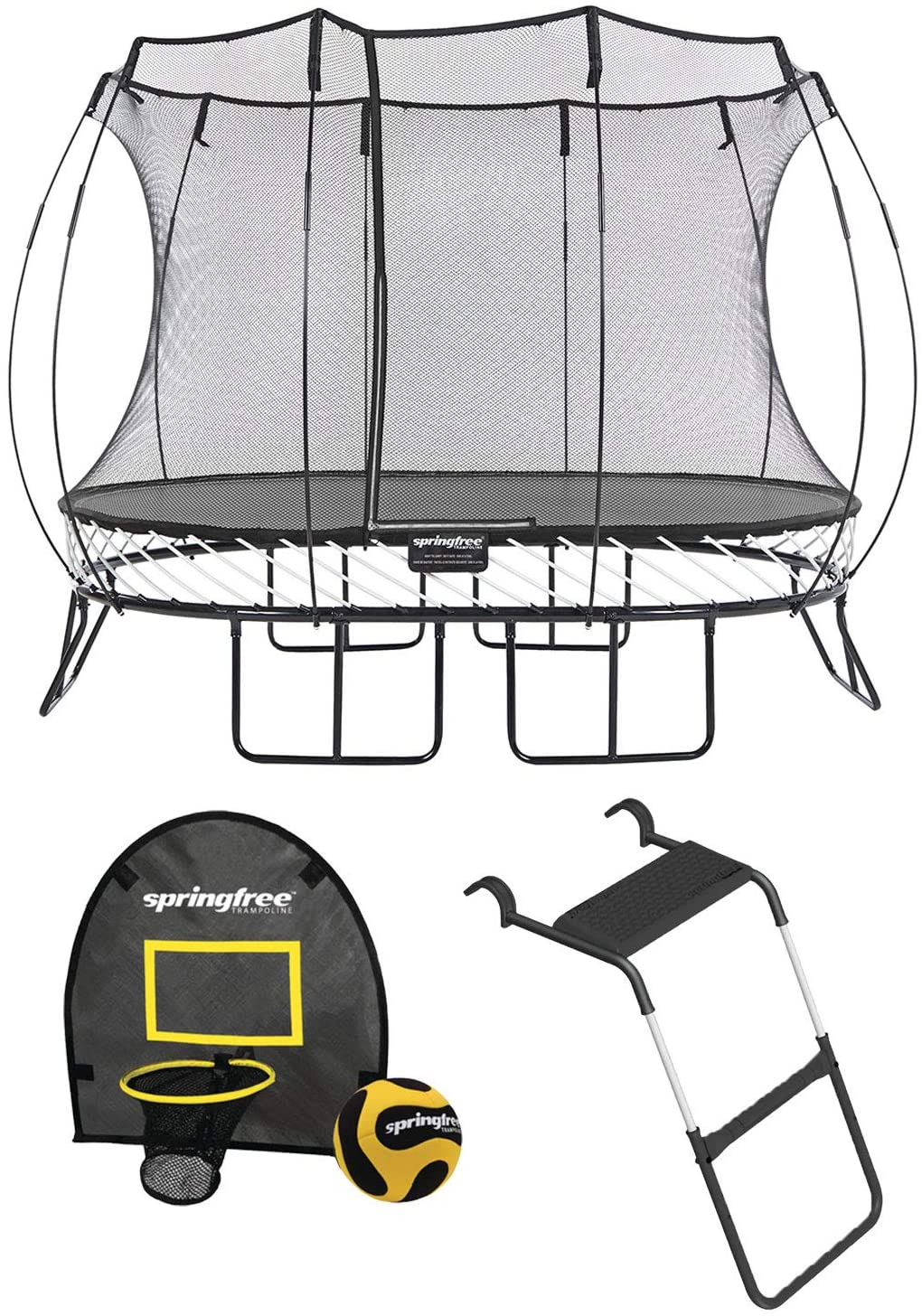 Springfree Trampoline Naked Trampolines