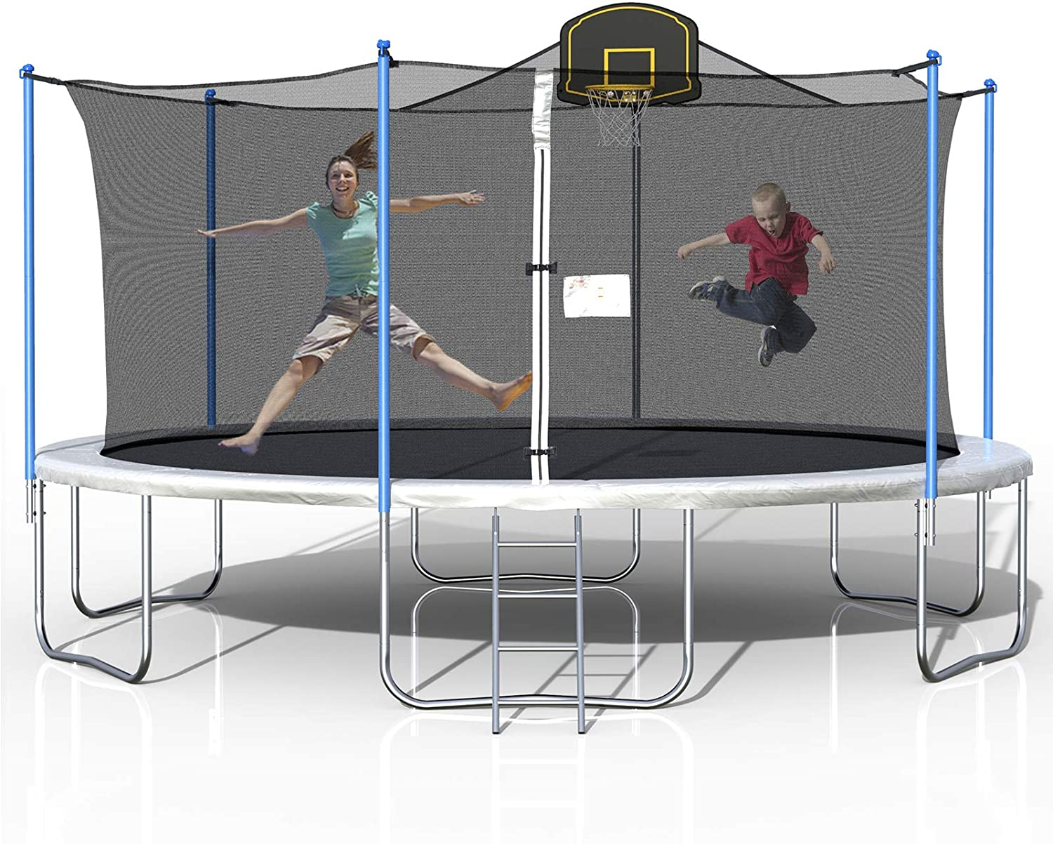 Trampoline with Enclosure for Kids by Tatub