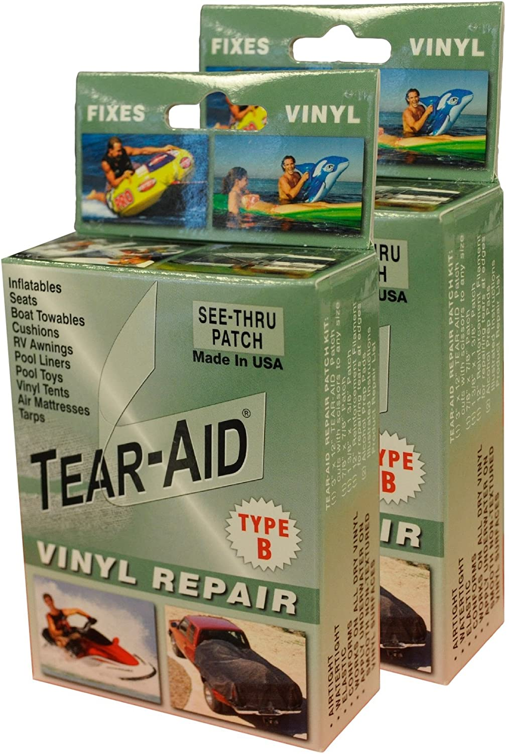 Vinyl Repair and Fixes by Tear-Aid